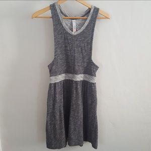 FP Beach Dress Swimsuit Cover Gray Tank
